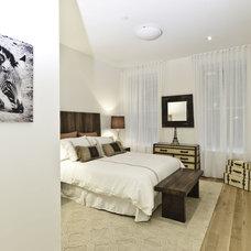 Industrial Bedroom by Marie Burgos Design