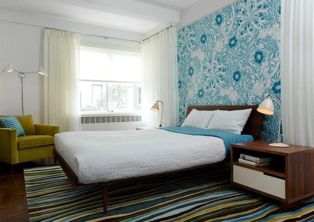 Contemporary Bedroom by angela adams