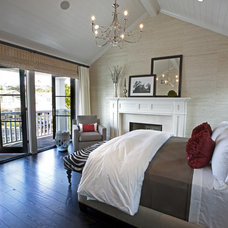 transitional bedroom by Spinnaker Development