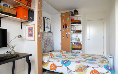Houzz Tour: A Plain London Apartment Becomes Guest-Friendly
