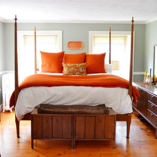 Farmhouse Bedroom by Amy Renea
