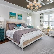 Beach Style Bedroom by McKee Builders