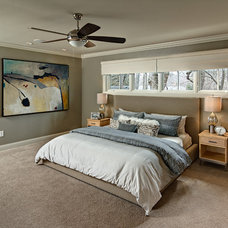 Transitional Bedroom by Knight Construction Design | Chanhassen, Minnesota