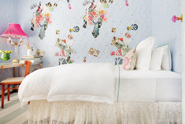 Shabby-chic Style Bedroom by Bronwyn Poole of Touch Interiors