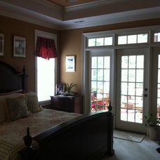 Traditional Bedroom by Barker & Canady Custom Homes, Inc.