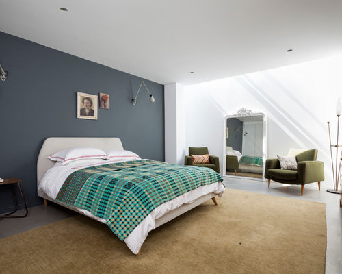 Grey Feature Wall Design Ideas Remodel Pictures Houzz
