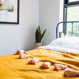 Inspiration pour une petit chambre vintage.