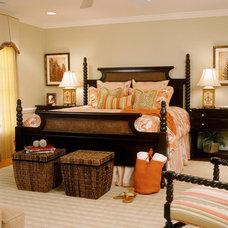 Traditional Bedroom by Ann Kenkel Interiors