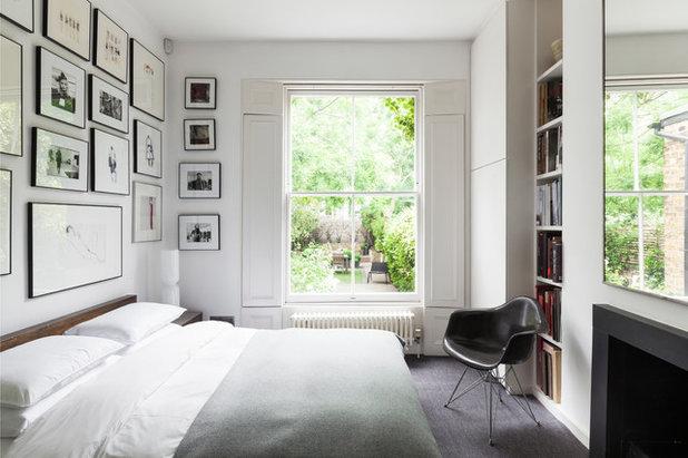 コンテンポラリー 寝室 by Bertolini Architects