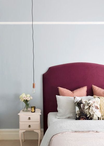 Eclectic Bedroom by The Designory