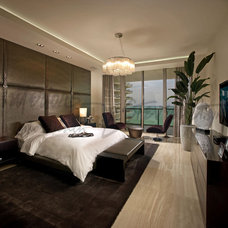 Contemporary Bedroom by Interiors by Steven G