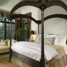 Mediterranean Bedroom by Summerour Architects