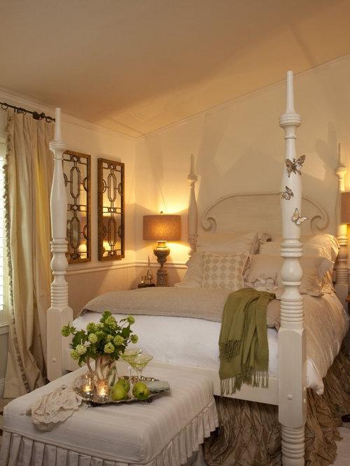 Romantic country bedroom design ideas pictures remodel decor - Romantic country bedroom decorating ideas ...