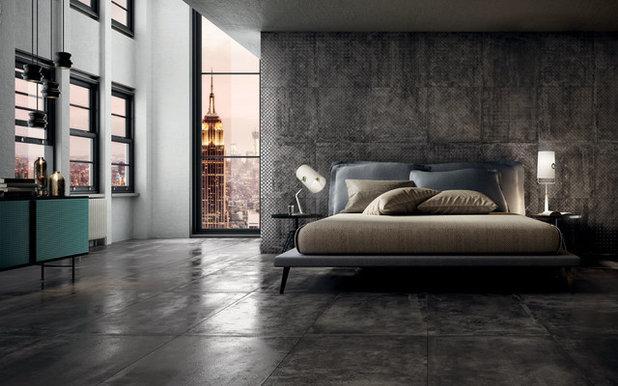 Industriale Camera da Letto by GENROSE Stone + Tile