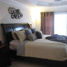 Traditional Bedroom by SOS Home Staging Group, LLC