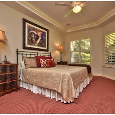 Contemporary Bedroom by Showhomes Tampa