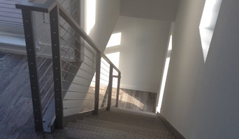 Stainless Steel Stairs w/ cable rail