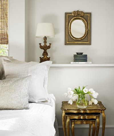 Shabby-chic Style Bedroom by Hugh Jefferson Randolph Architects