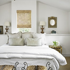 Eclectic Bedroom by Hugh Jefferson Randolph Architects