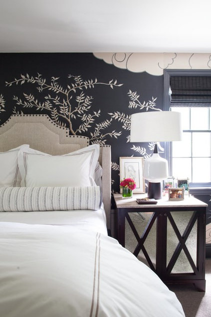Transitional Bedroom by Amy Aidinis Hirsch
