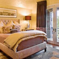 Traditional Bedroom by Bravo Interior Design