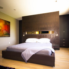 Modern Bedroom by Element Design Build Inc.