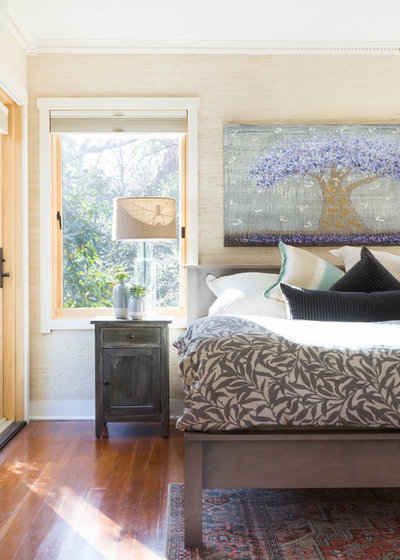 Transitional Bedroom by Marci Goulart Interior Design
