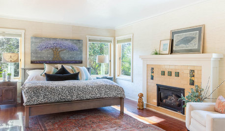 100-Year-Old Craftsman Home's Master Suite Lightens Up
