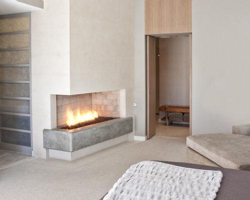 Modern Corner Fireplace Houzz
