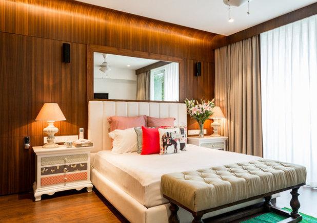 Contemporary Bedroom by Shabnam Gupta