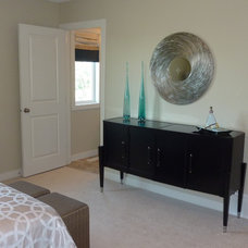 Contemporary Bedroom by Willow Tree Interiors