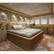 Eclectic Bedroom by JAIME SCARPITTA