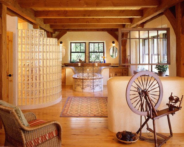 Rustic Bedroom by Robert Hawkins