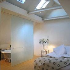 Contemporary Bedroom by Steeldaisy Associates