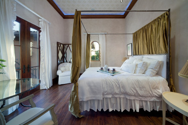 Mediterranean Bedroom by Keesee and Associates, Inc.