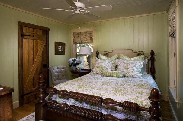 Rustic Bedroom by Gerald D. Cowart, AIA, LEED  AP