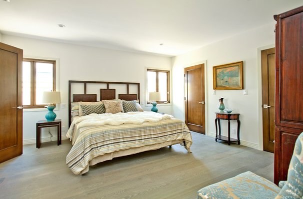 Transitional Bedroom by American Coastal Properties