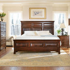 Master Bedroom With Triple Tray Ceiling Traditional