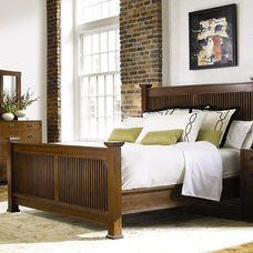 Craftsman Bedroom by Traditions Home