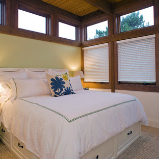 Example of a beach style bedroom design in San Francisco