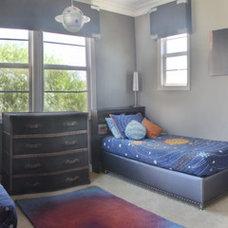 Modern Bedroom by OCDesignerSource.com
