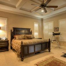 Mediterranean Bedroom by Garner Homes