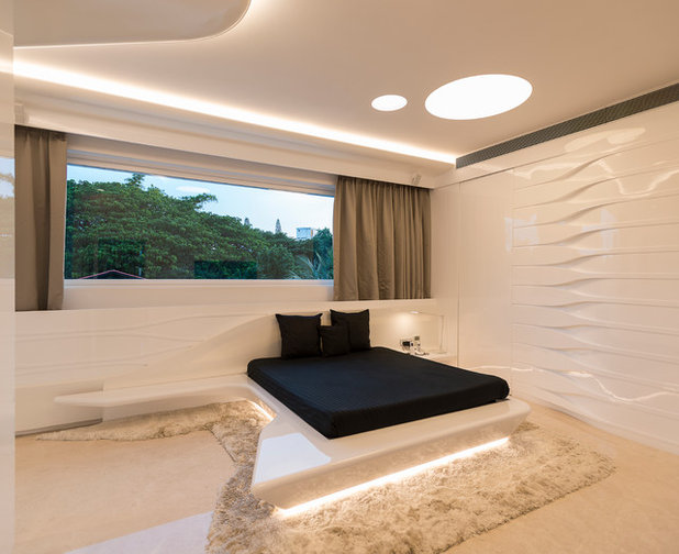 Contemporary Bedroom by Cadence Architects