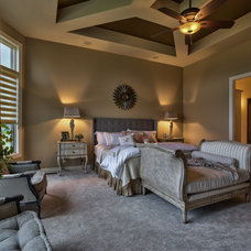 Transitional Bedroom by Inspired Interiors