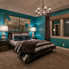 Transitional Bedroom by Falcone Homes