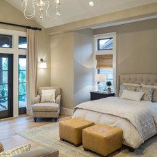 Transitional Bedroom by Alan Mascord Design Associates Inc