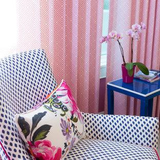 ポートランドのトランジショナルスタイルのおしゃれなゲスト用寝室