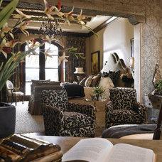 Mediterranean Bedroom by Victoria Martoccia Custom Construction, Inc