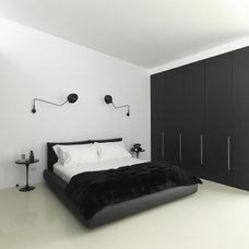 modern bedroom by Ian Moore Architects