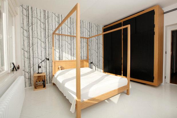 Contemporain Chambre by Trije arhitekti